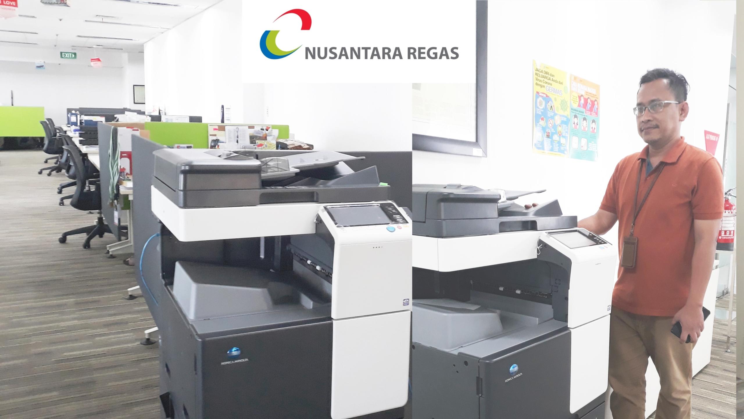 "Deny, IT Manager PT. Nusantara Regas : "" Kami Puas Dengan Layanan Konica Minolta dan Selalu Update Pada Pelanggan """