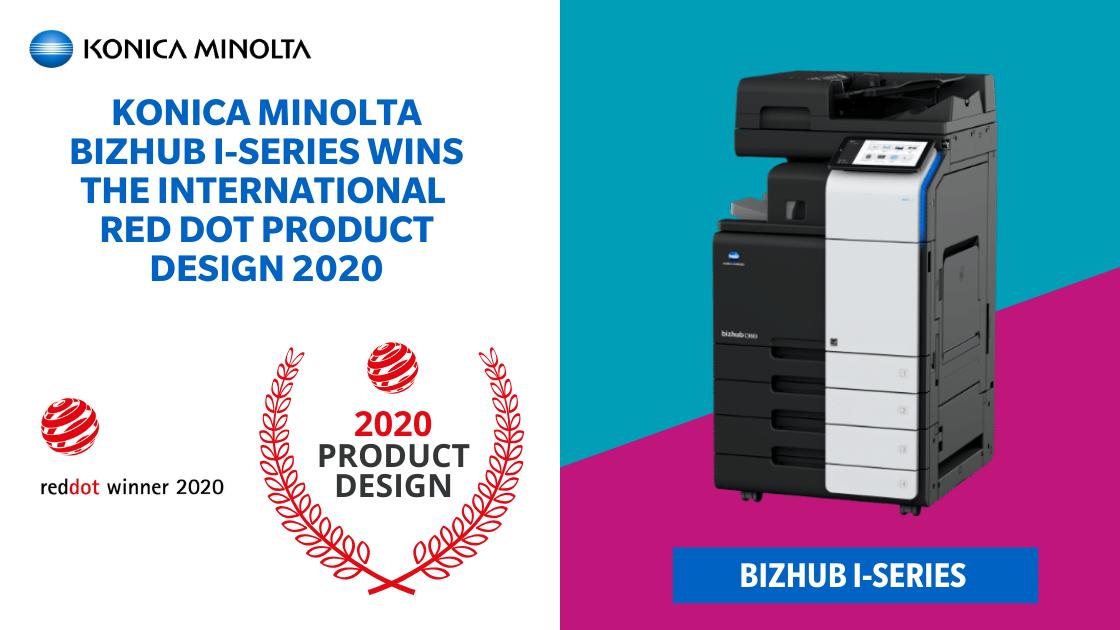 Konica Minolta Bizhub i-series Wins The International Red Dot Product Desgin 2020