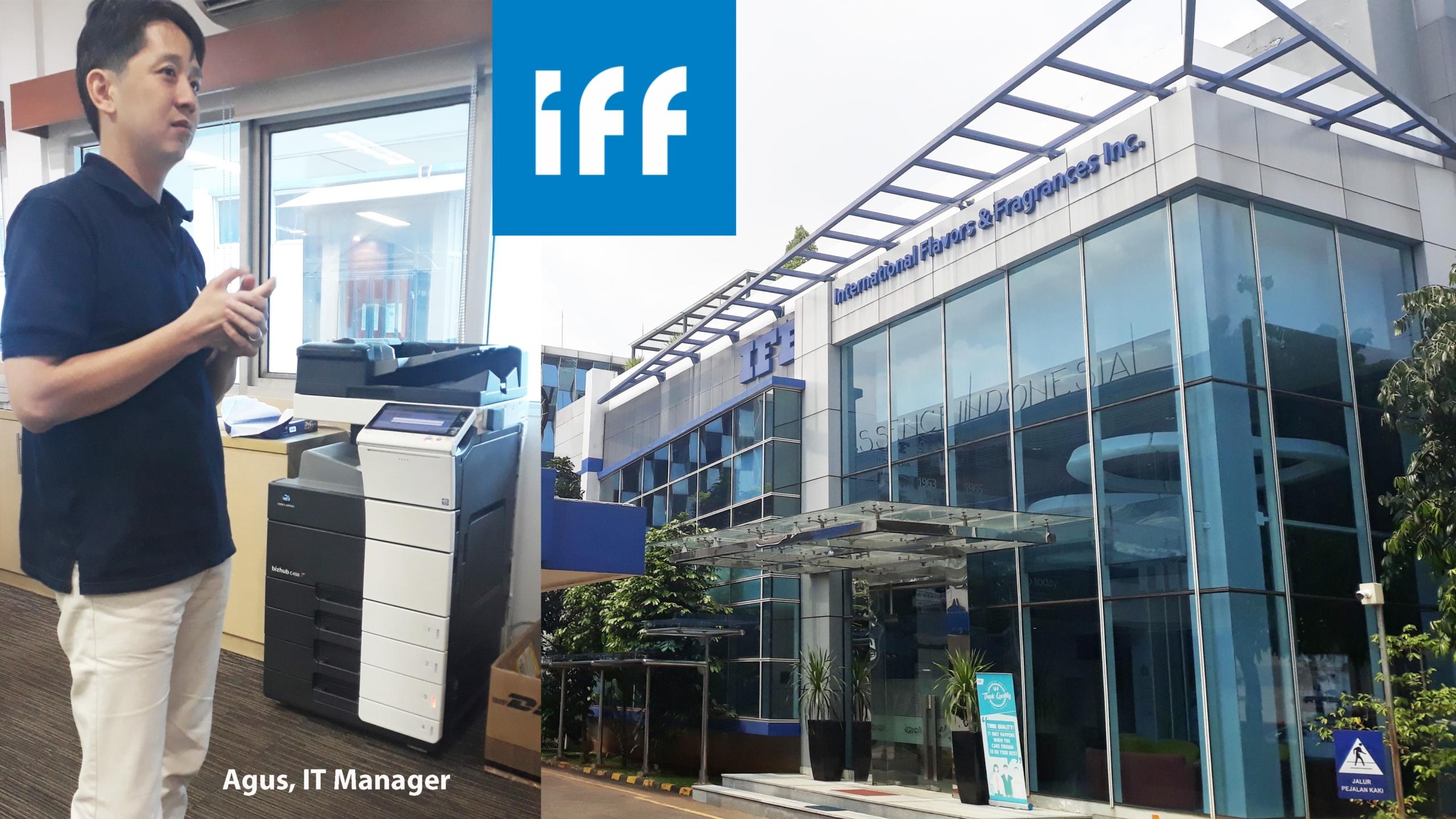 PT ESSENCE INDONESIA – IFF Puas Dengan Layanan Cetak dan Support Konica Minolta